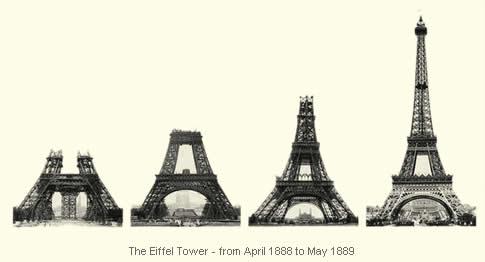 Konštrukcia Eiffelovej veže